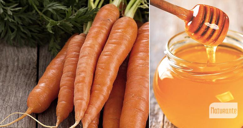 zanahoria y miel